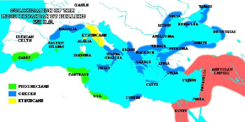 Greek and roman historians greek colonization gumiabroncs Gallery