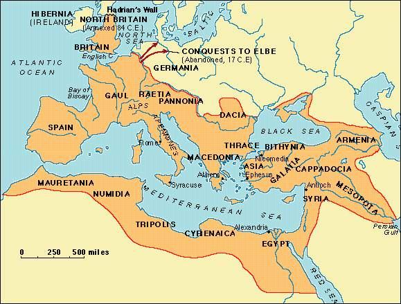 Greek And Roman Historians - Ancient rome map tiber river