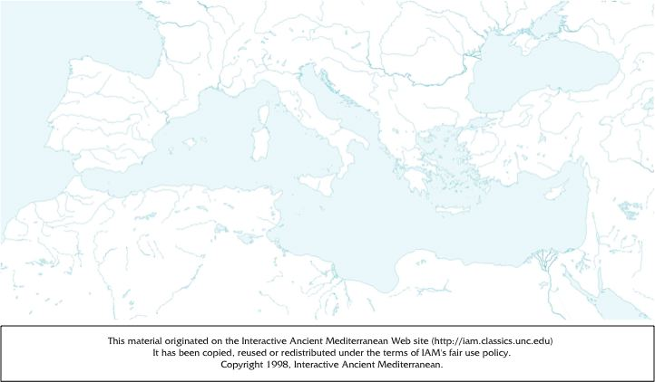 Hellenistic Greece Map.Greek And Roman Historians