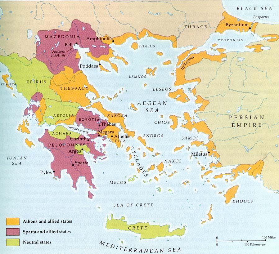 Maps of Greece - Macedonian History